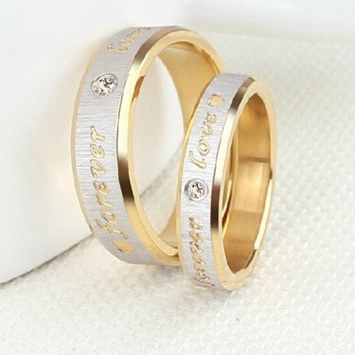 'Forever Love' Couple Ring
