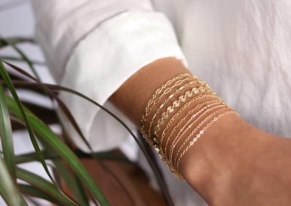 14K Gold Bracelet Womens