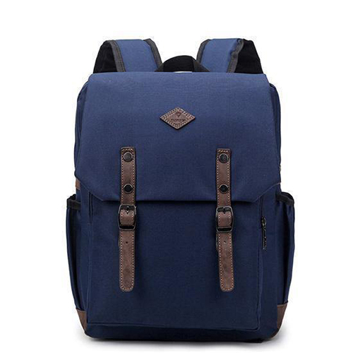 15-inch Nylon Unisex Laptop School Backpack