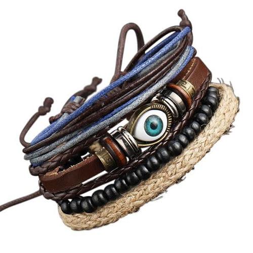 Boho Rock Vintage Stack Bracelet