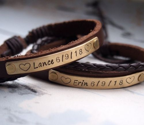 Customized Your Own Bracelets For Couples