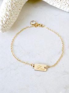 Girl Gold Bracelet