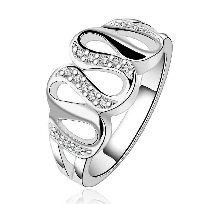 Swarovski Multi-curved Loop Ring