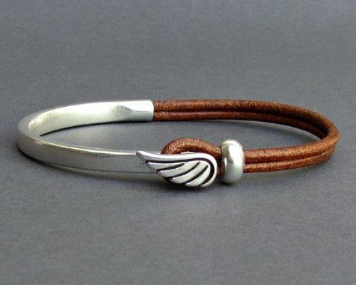 Mens Bracelets Silver