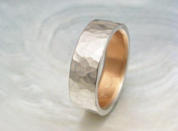 Men's Platinum Wedding Band 6mm