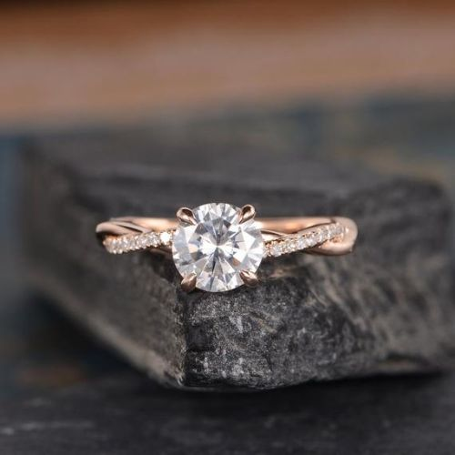 Moissanite Engagement Ring Clearance