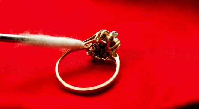 Morganite Engagement Ring Cleaning and Care