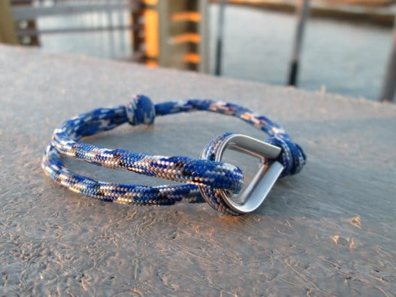 Outdoor Retro Stainless Steel Survival Paracord