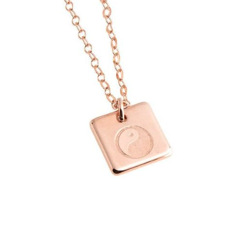 Rose Gold Charms For Necklaces