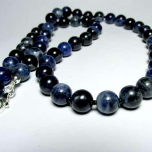 Sodalite Necklace for Boys