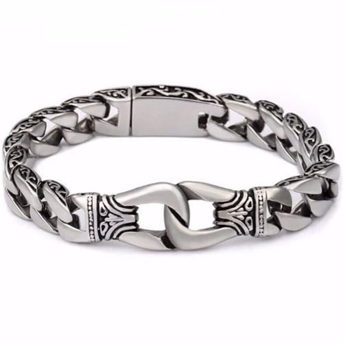 Stainless Steel Curb Chain Bracelets
