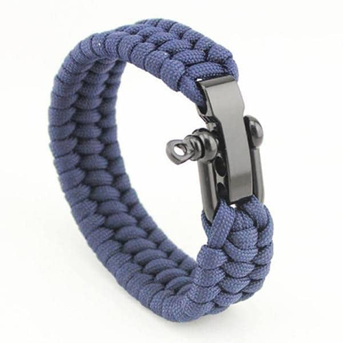 Triple Braided Stainless Steel Paracord Bracelets