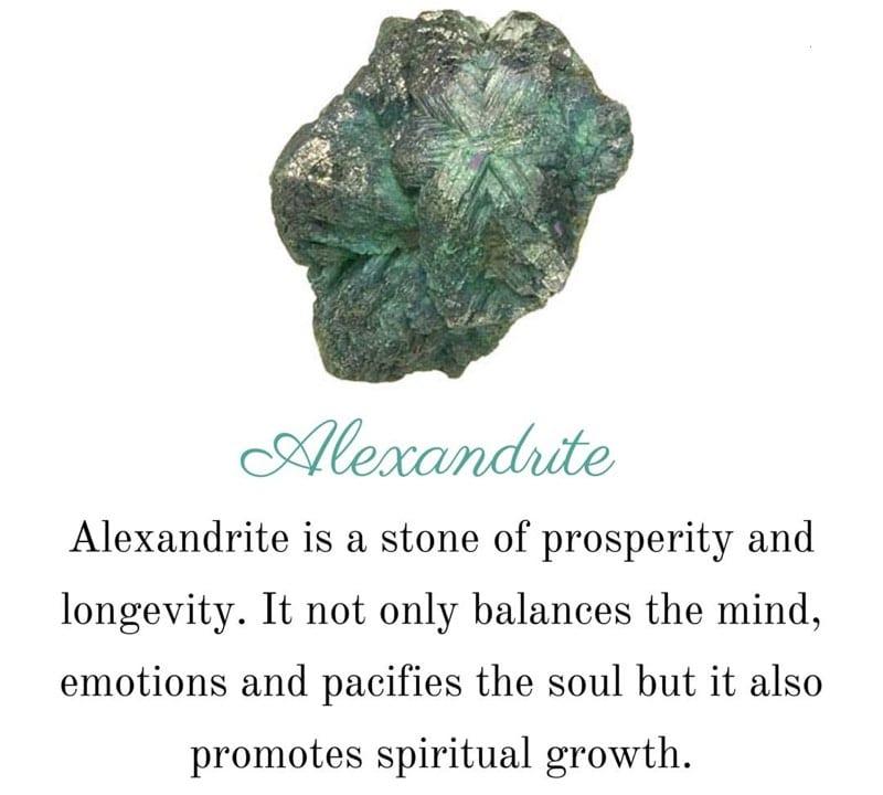 Alexandrite Healing Properties