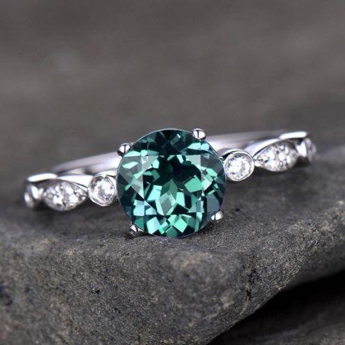 alexandrite stone rings june traditional birthstone
