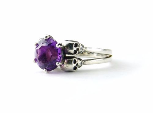 Amethyst Engagement Rings For Women