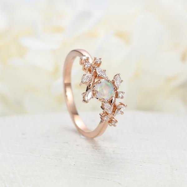 Antique Opal Engagement Ring