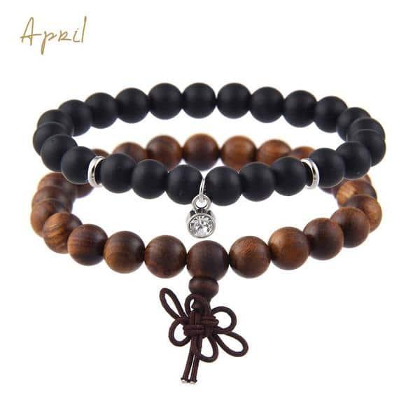 April Birthstones Bracelet Set