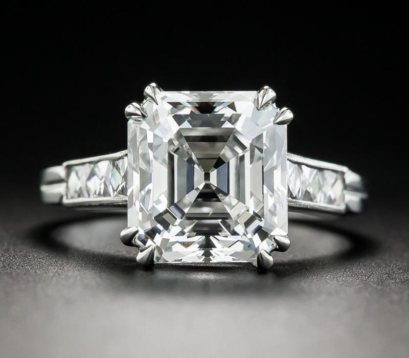 Asscher Ring Stone Shape