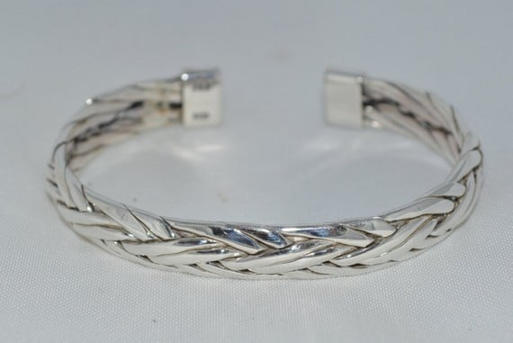 Bangle Silver Bracelets For Men