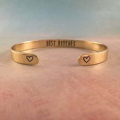 Best Friend Gold Bracelets