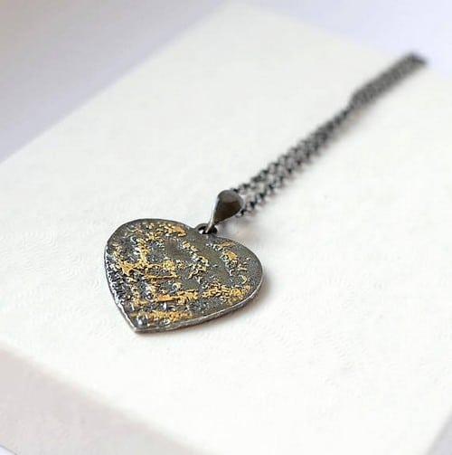 Best Friend Heart Necklaces