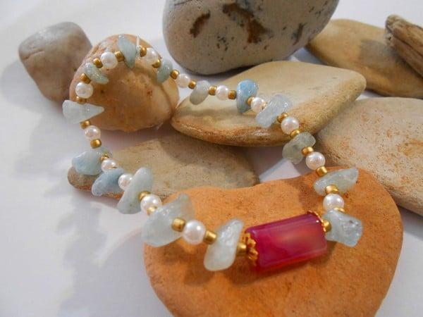 Birthstones Aquamarine Bracelets