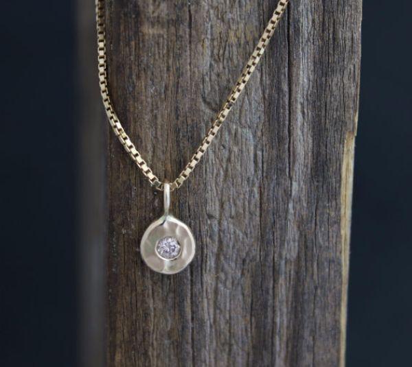 Birthstones Diamond Necklaces