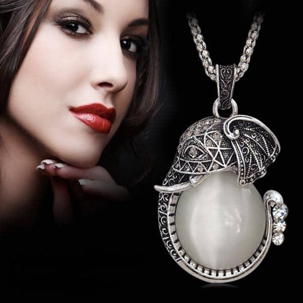 Birthstones Opal Necklaces