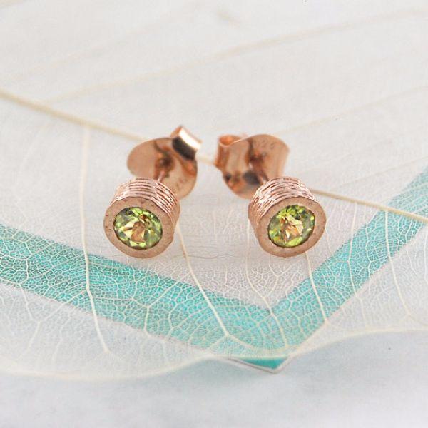 Birthstones Peridot Earrings