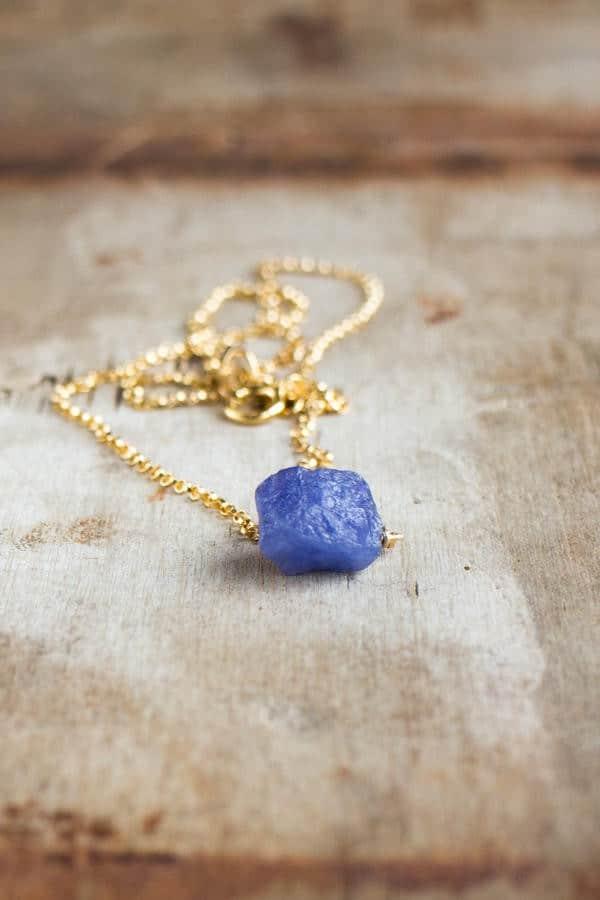 Birthstones Tanzanite Necklace