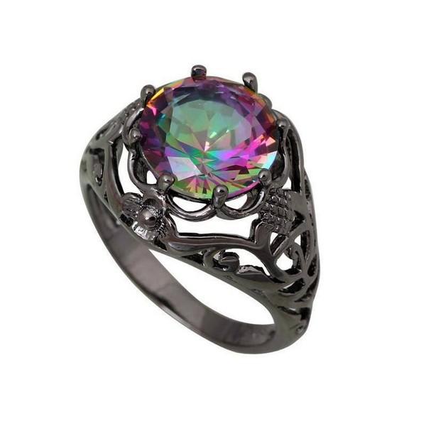 Birthstones Topaz Ring