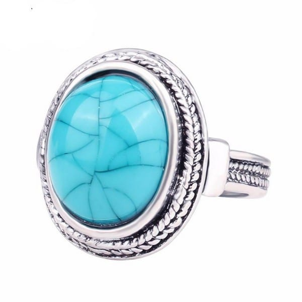 Birthstones Turquoise Ring