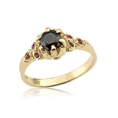 Black Diamond Engagement Rings Meaning