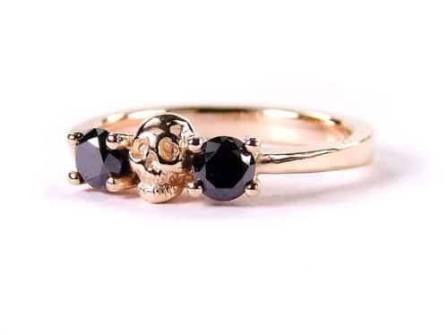 Black Diamond Engagement Rings Tiffany