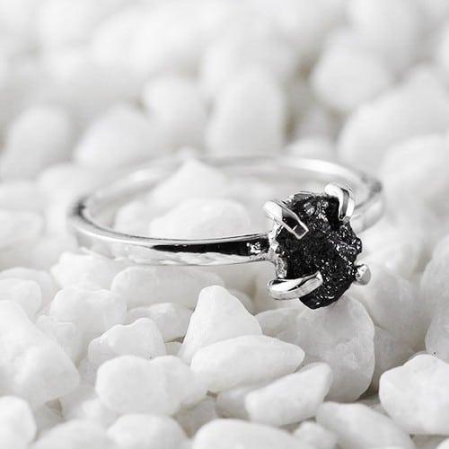 Black Diamond Engagement Rings Video