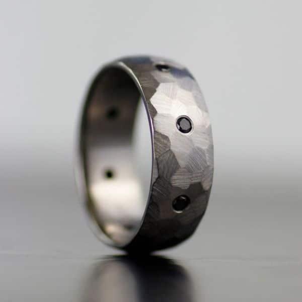 Black Diamond Ring Mens