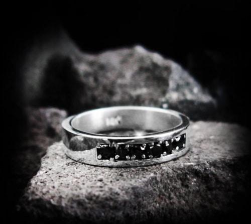 Black Diamond Ring Price