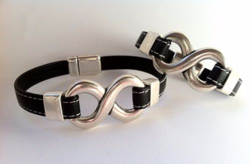 Bracelets For Couples Leather