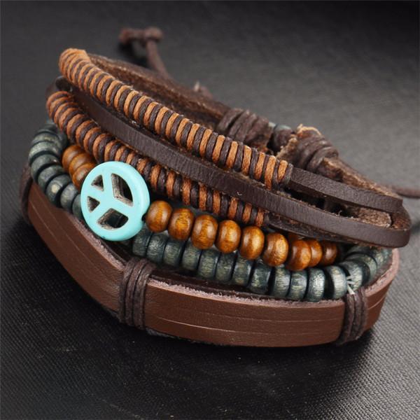 Bracelets Stack Black