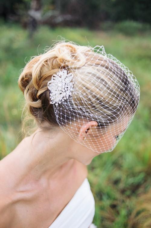Bridal Birdcage Veil