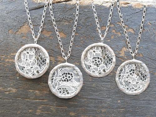 Bridesmaid Keepsake Necklaces