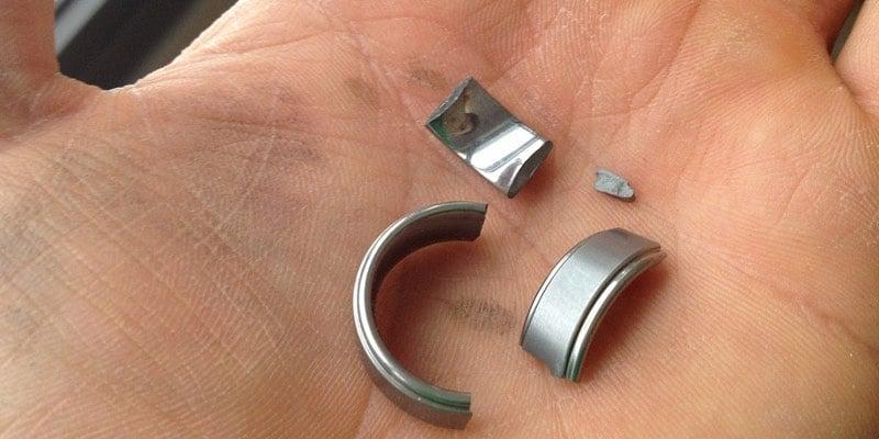 Broken Tungsten Ring for Men