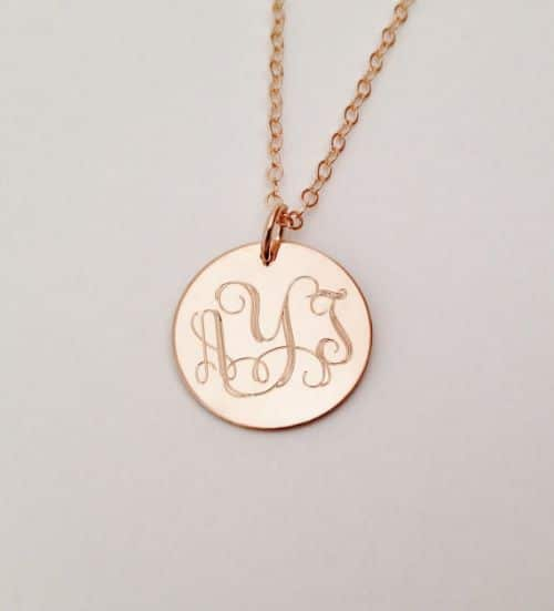 Cheap Rose Gold Necklaces