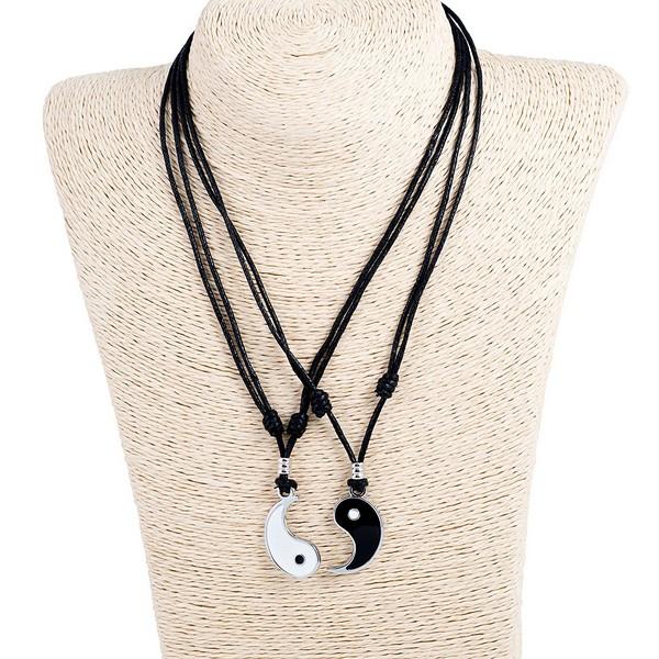 Couple Necklace Set Korean