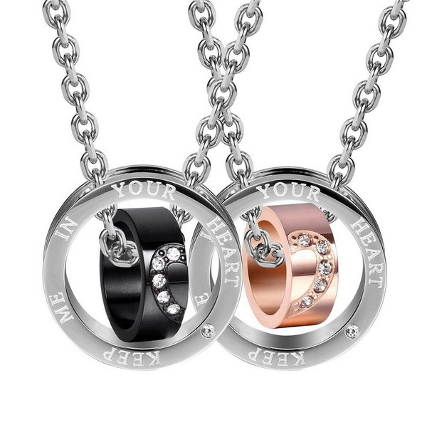Couple Necklaces With Dates