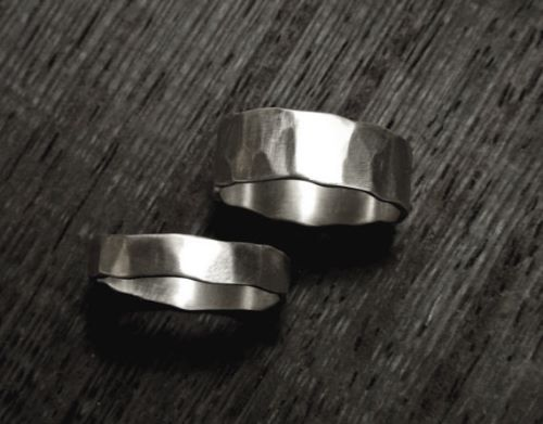 Couple Rings Silver