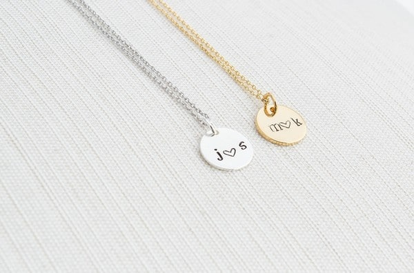 Couples Cross Necklaces