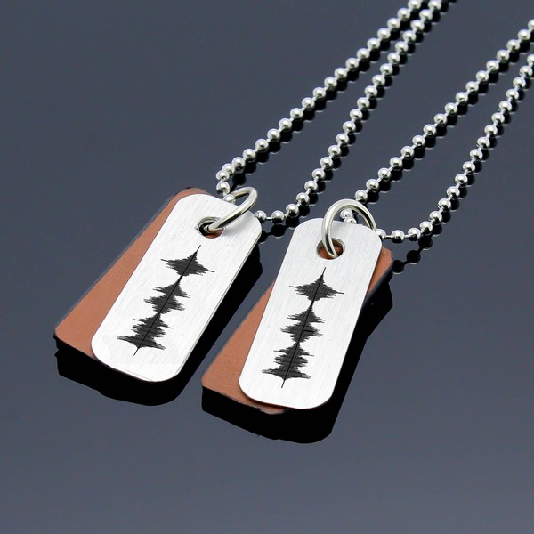 Couples Matching Cross Necklaces