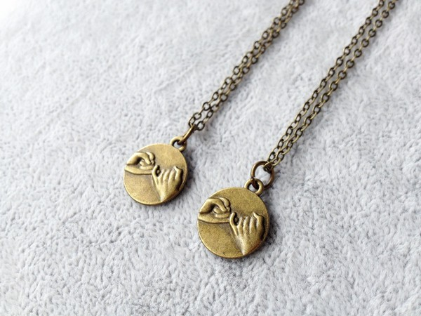 Couples Matching Necklaces