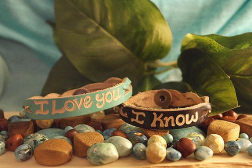 Customized Bracelets For Couples Leather